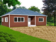wood siding 1 bedroom prefab mobile homes