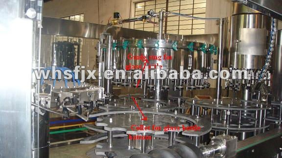 Glass Bottle Washer / Rinser / Cleaner