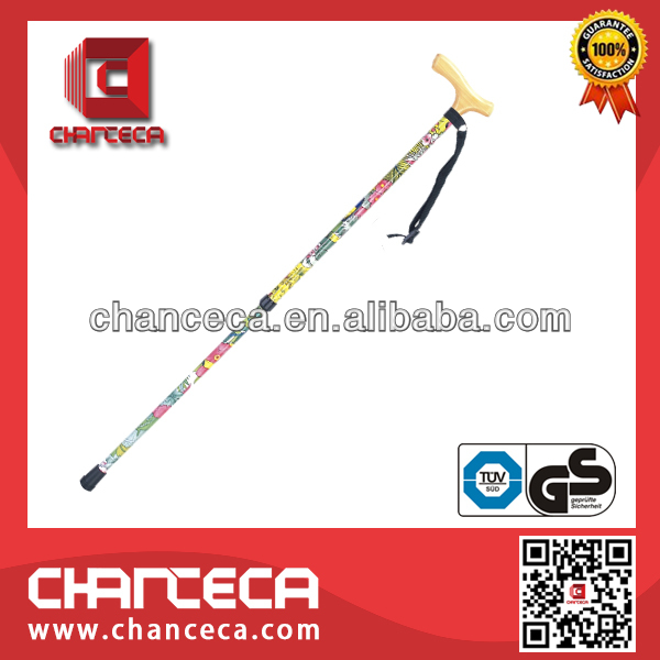 extendable loral walking stick