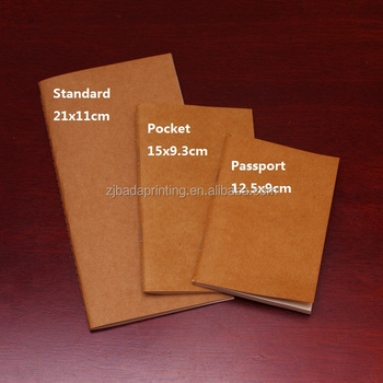 Cheap Craft Paper Notebook Wholesale/Pocket Notebook /A4 A5 A6 Notebook Diary