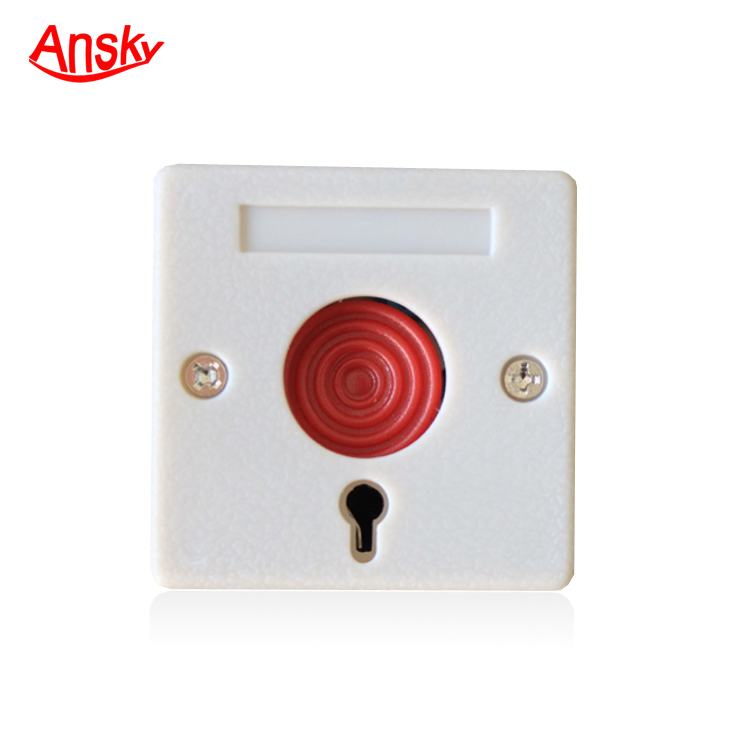 Professional Wired Key Reset Emergency Panic Button