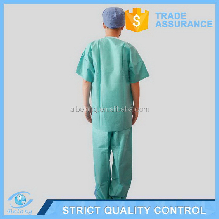 High lumen reasonable price disposable surgical gown pajamas
