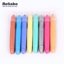 Reliabo 2018 Latest Products High Quality Plastic Twistable Color Crayon