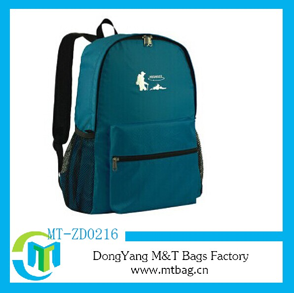 Cheap backpack funny foldable shopping bag