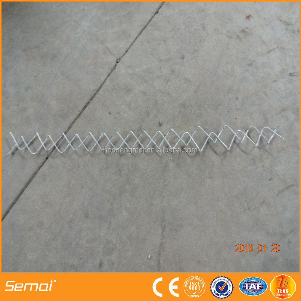Anping reliable supplier 2 inch plastic coated chain link fence