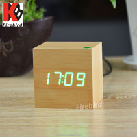 wholesale low price led digital clock with various color light dispaly