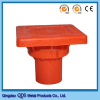 OSHA Plastic Building Material Type Safety Rebar Caps