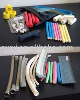 colord rubber foam extrusions