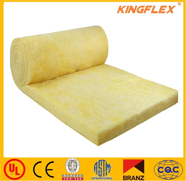 Kingflex Aislamiento De Lana De Vidrio Resistente Al Fuego