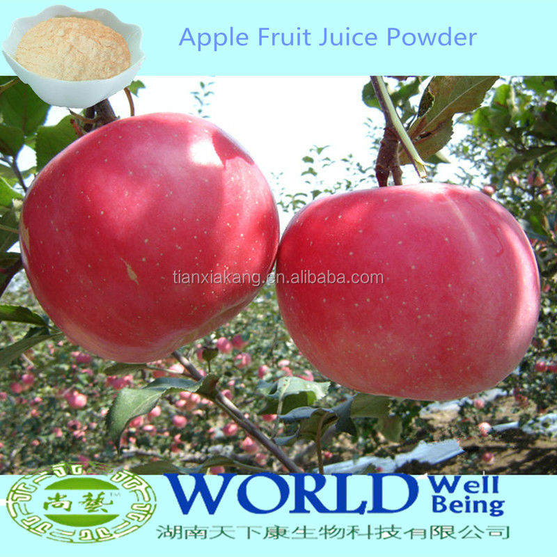 China Factory Pure Spray Dried Apple Juice Powder/Apple Juice Concentrate/Dried Apple Powder
