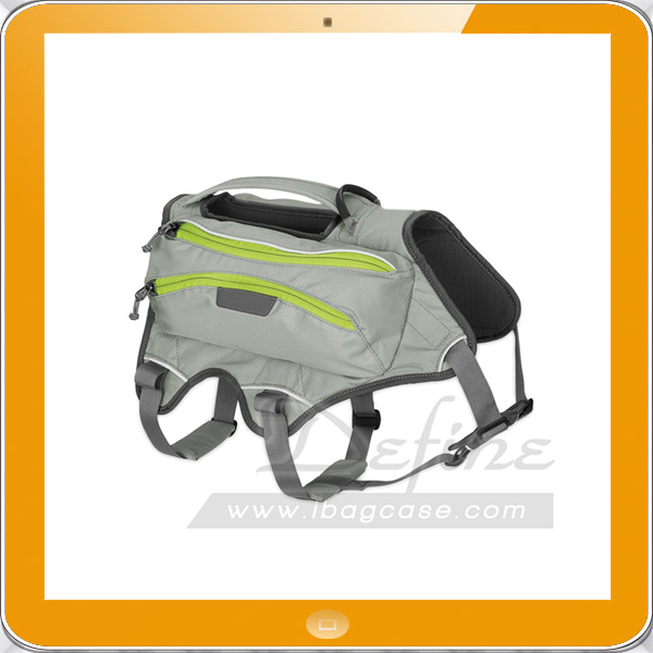 Extended wear customizable 0.6L collapsible water bottles soft sided Low-profile Pets saddlebags