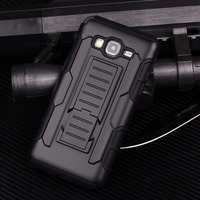 2016 Armor Hybrid Triple Full Capa Military 3in1 Defender Combo Case for samsung galaxy prime G530 Stand Kickstand Cover See lar