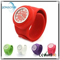 Wholesale silicone kids cheap slap watch bands for boys