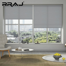 RRAJ Window Shade Waterproof Shower Roller Blind For Home