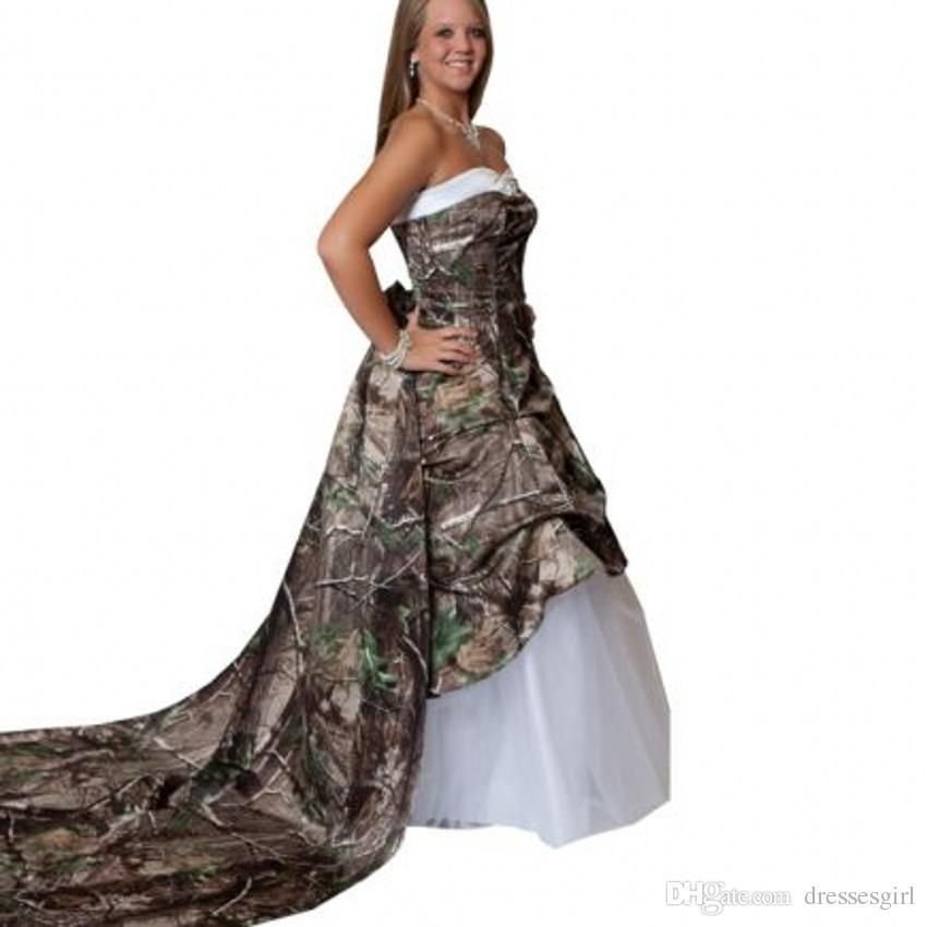 Cheap Camo Wedding Dresses For Plus Sizes, find Camo Wedding Dresses ...