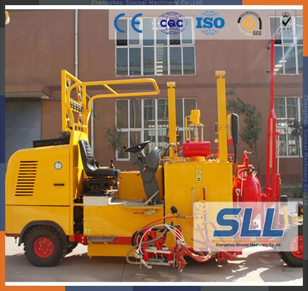 SINCOLA China Cold Spraying Traffic Line Road paint Stripping Marking Machine for sales