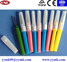Sterile vacuum blood collection needle 23g