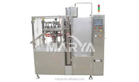 Plastic tube food filling and sealing machine for jam