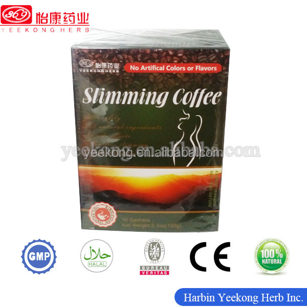 2017 Natural and safe High quality Weight Loss Slimming Coffee