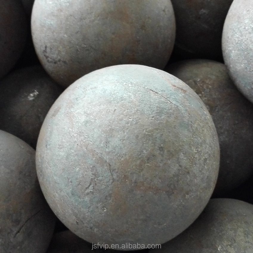 China Made 80mm Forged Grinding Iron Steel Ball For Mine and Ball Mill