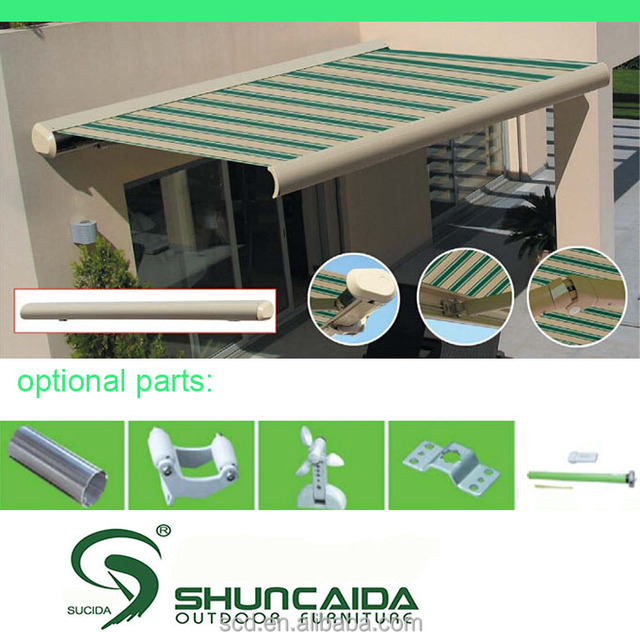Useful Full Cassette Retractable Awnings for Whole Sale