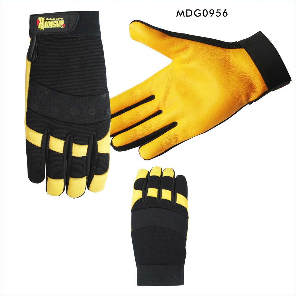 Super soft keep safety cheap mens deer skin gloves