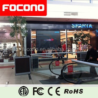 P10 Indoor Front Open SMD Led Advertising Board Real Estate Agent Window LED Display