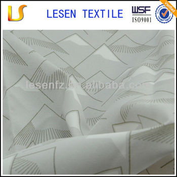 200D printed nylon taslon oxford fabric for jacket