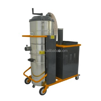 Large capacity industrial heavy duty construction dust vacuum cleaner