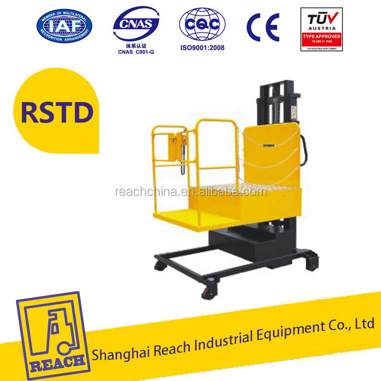 Top level lower price ce semi electric order picker