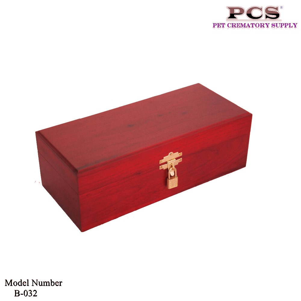 Makey Funeral Wholesale Pet Cremation Wooden Urns for Ashes