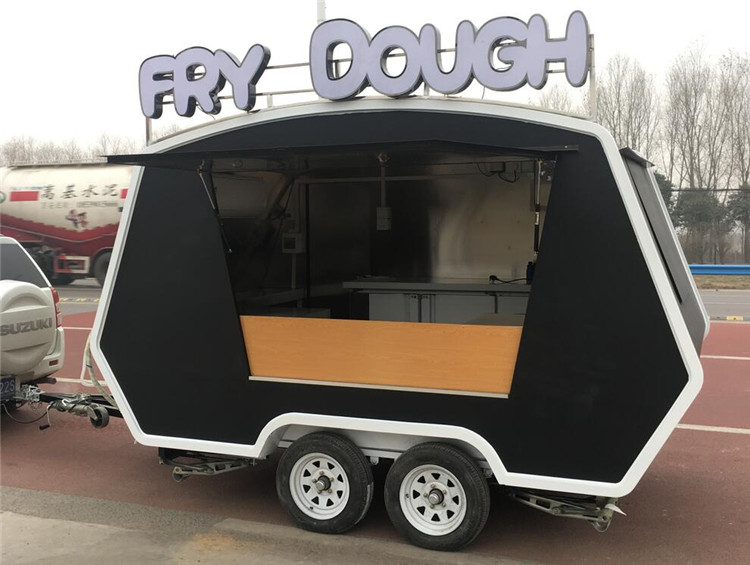 GLORY mobile catering food trailer fast food mobile kitchen trailer