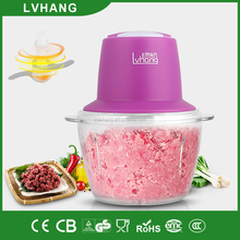 300W Multi-function unbroken jar mini food chopper