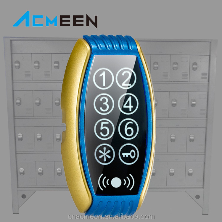 Touch Digital LED Screen Cabinet Lock,Sauna Lock