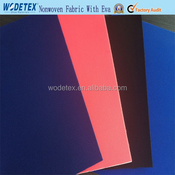 China Wodetex Nonwoven nylon cambrelle fabric laminated with eva