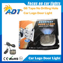 Wireless projection logo light,led car logo door light,car door logo laser ghost shodow projector lights car accessories