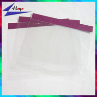 quality printing poly bag for gems packaging self adhesive