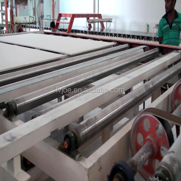 gypsum board production plant equipment with installation service