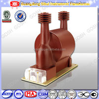 Indoor Epoxy Resin Insulation Single Phase Electromagnetic Voltage Transformer with fuse