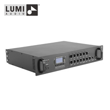 Commercial Multi-Input 6 Zone Mixing Amplifier Audio AMP 240W