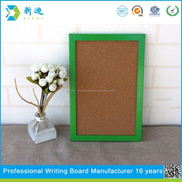 decorative green frame cork board 20*30cm