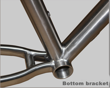 Handcraft Custom 29inch Intergrated Titanium MTB Frame with Lifetime Guarantee