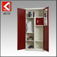India clothes cabinet 2 door almirah wardrobe with file for office