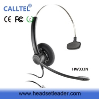 Noise-canceling Professional Call Center Headset earphone of digital multimedia computer system