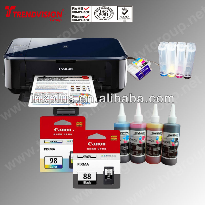 Digital printing inkjet ink ciss for canon pixma e500