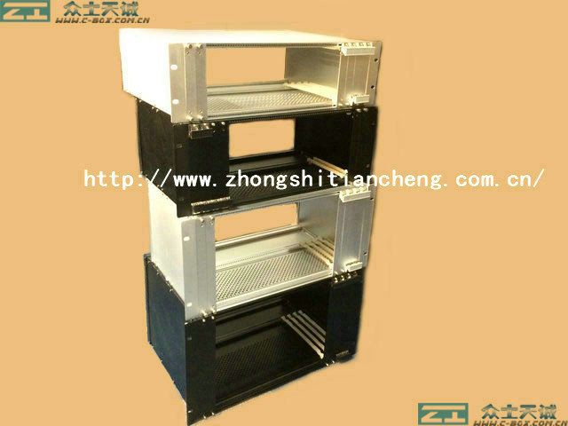 "subrack 2U/ 89*482*500mm  telecommunication factory 19"" standard server subrack for computer"