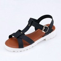 2015 Summer Leather Sandal Shoes For Women