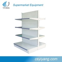 double-side walmart shelf rack