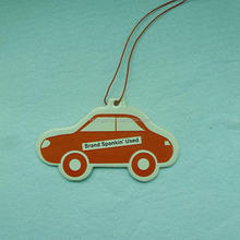 promotional festival hottest gifts japan car perfume hanging air freshener for car