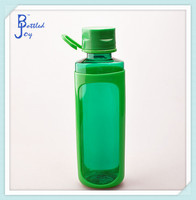 plastic smart cup 20oz juice bottle bpa free using for sport bike travelling